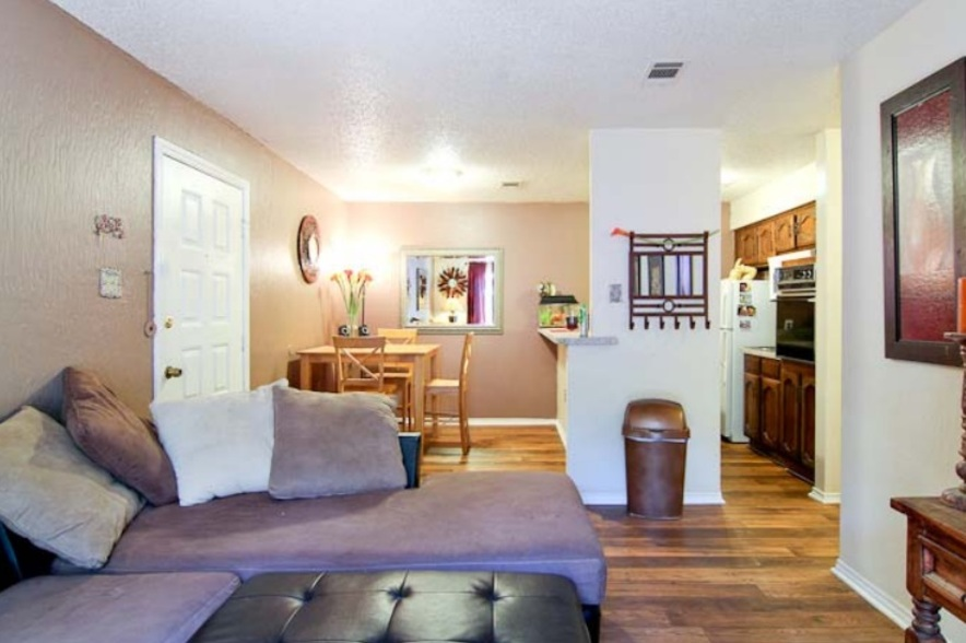 Living/Dining at Listing #217963