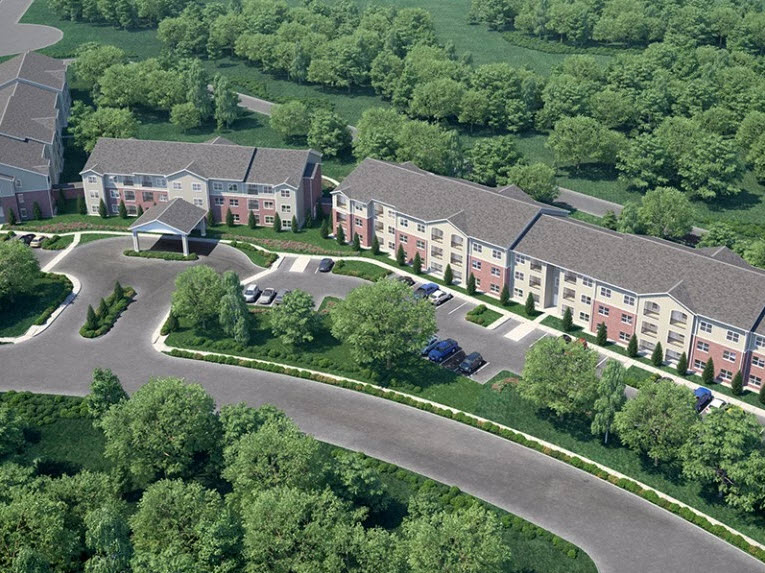 Aerial View at Listing #264026