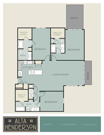 1,944 sq. ft. G floor plan