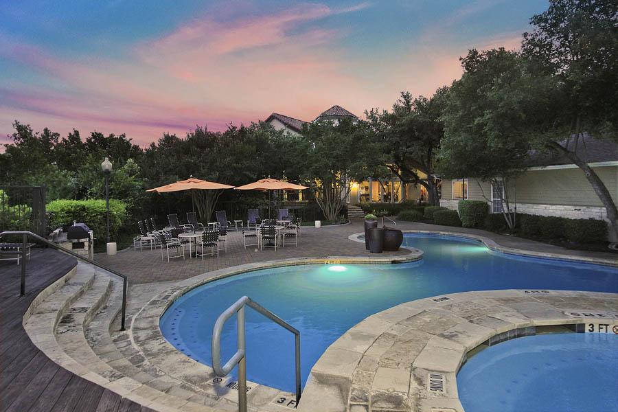 Pool at Listing #140652