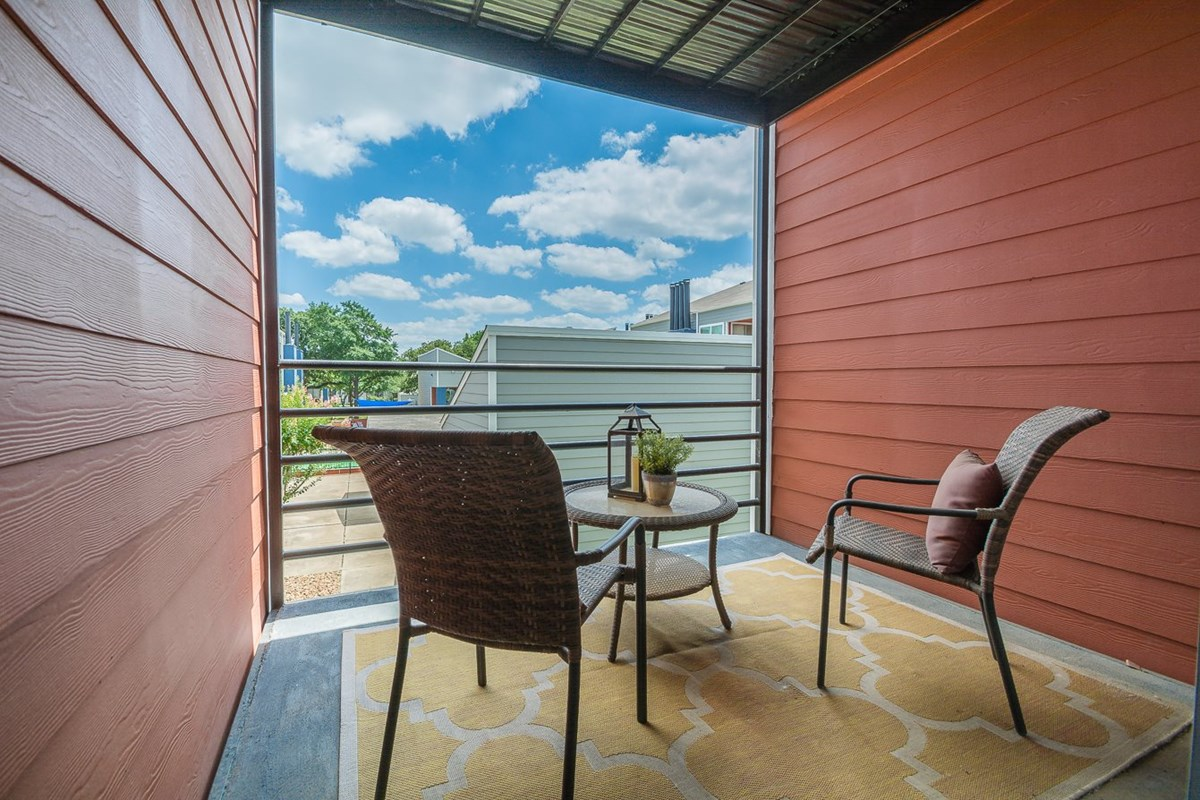 Patio at Listing #136913