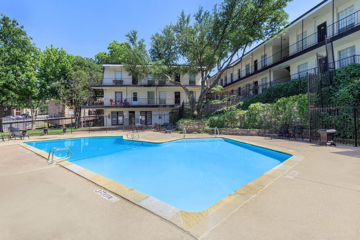 Pool at Listing #137188