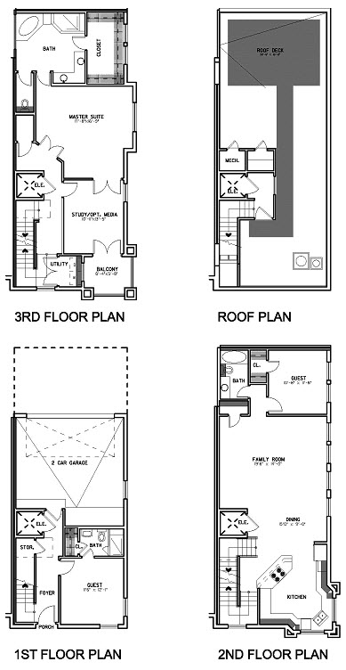 2,414 sq. ft. Floor Plan E floor plan
