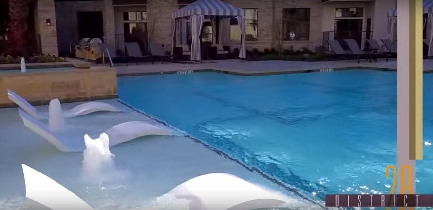 Pool at Listing #266536