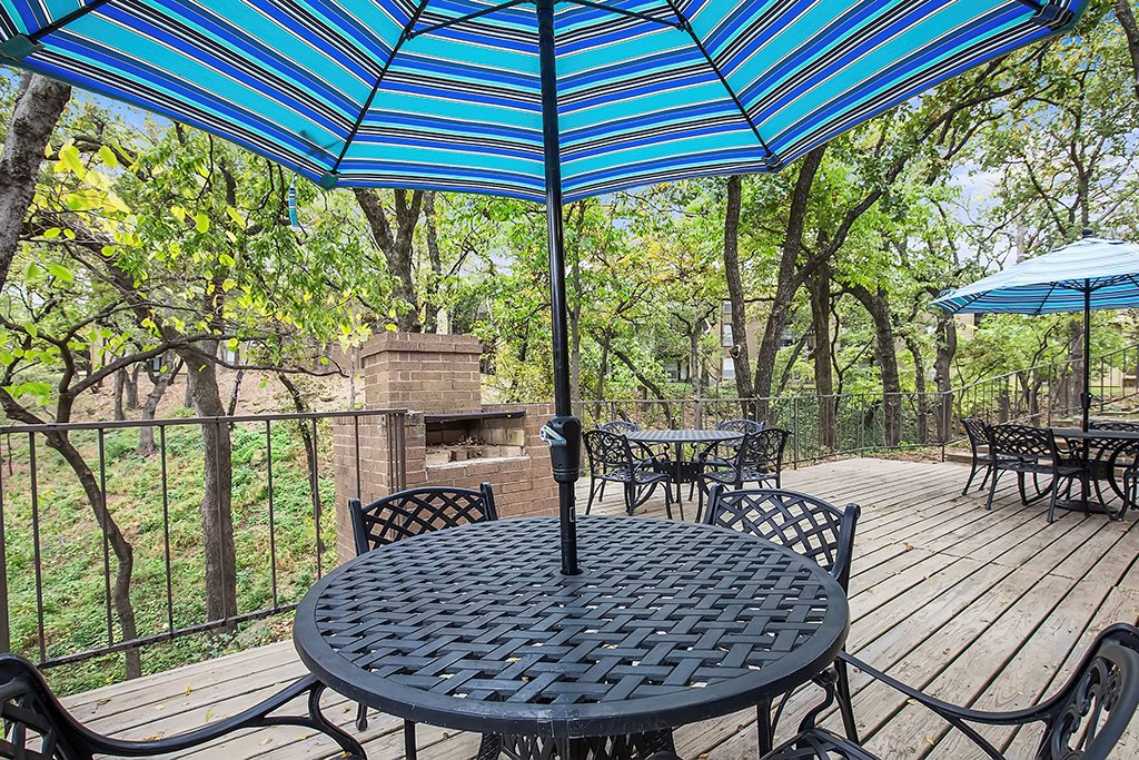 Patio at Listing #136799