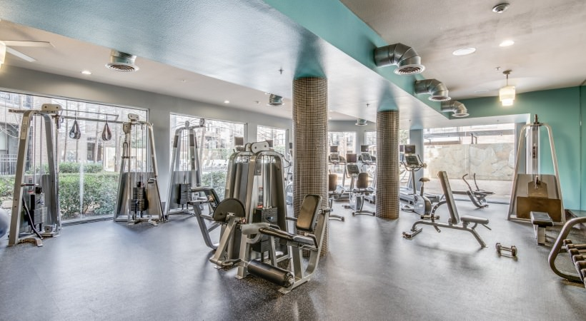 Fitness Center at Listing #144942