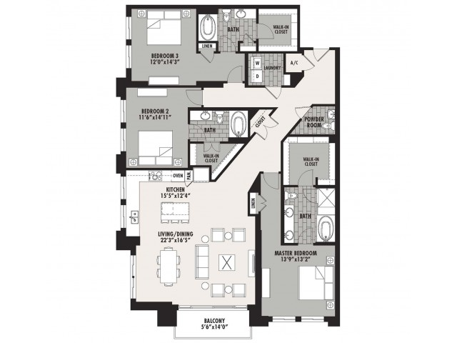 2,254 sq. ft. Preston(C.1) floor plan