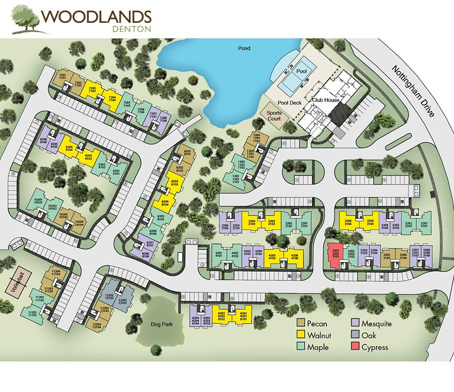 Woodlands Denton I at Listing #242286