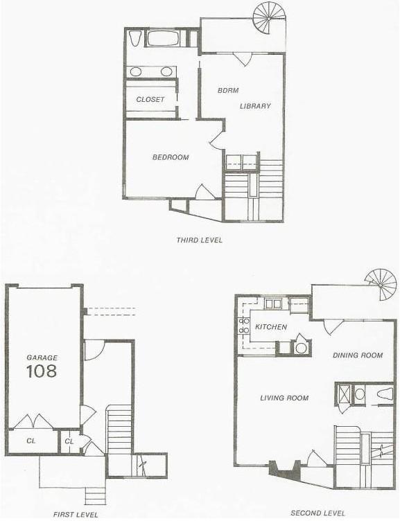 1,417 sq. ft. 103 Try-Level floor plan
