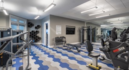 fitness center at Listing #292525
