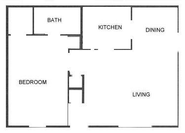 604 sq. ft. floor plan