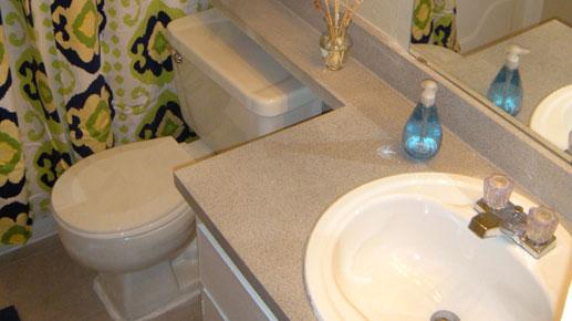 Bathroom at Listing #139952