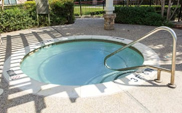 Hot Tub at Listing #144218
