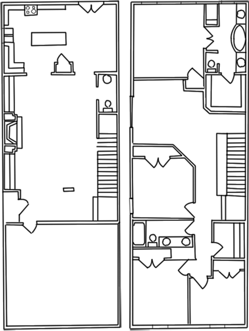 2,500 sq. ft. C floor plan