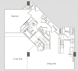 2,450 sq. ft. P6 floor plan