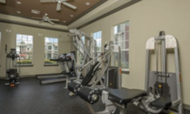 Fitness Center at Listing #147696