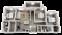 1,322 sq. ft. C2 floor plan
