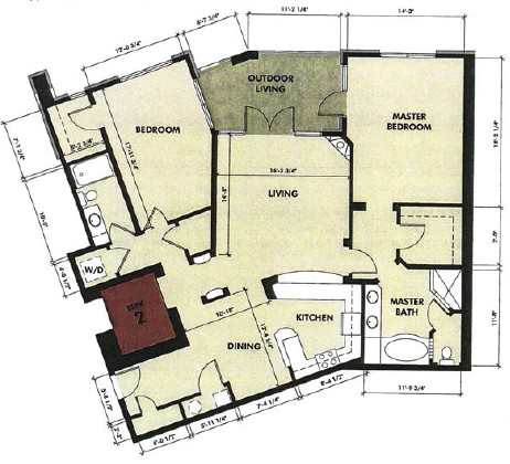 1,592 sq. ft. Comal floor plan