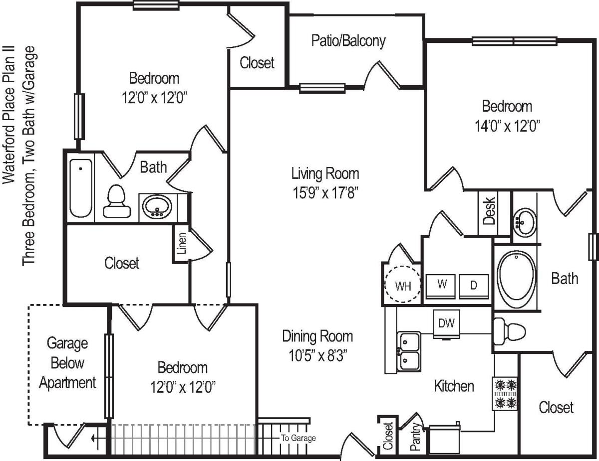 1,567 sq. ft. C22 floor plan