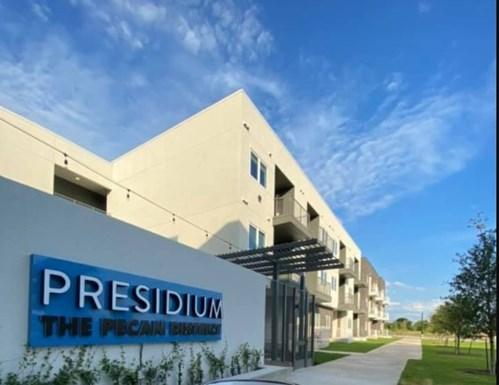 Presidium at the Pecan District Apartments