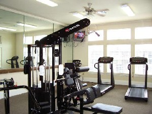 Fitness Center at Listing #144417