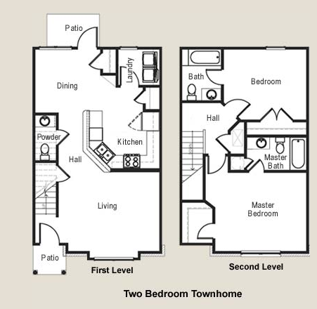 1,018 sq. ft. 30 floor plan