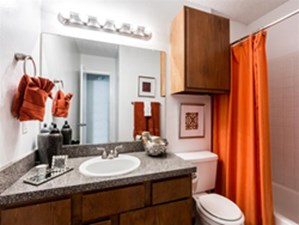Bathroom at Listing #136755