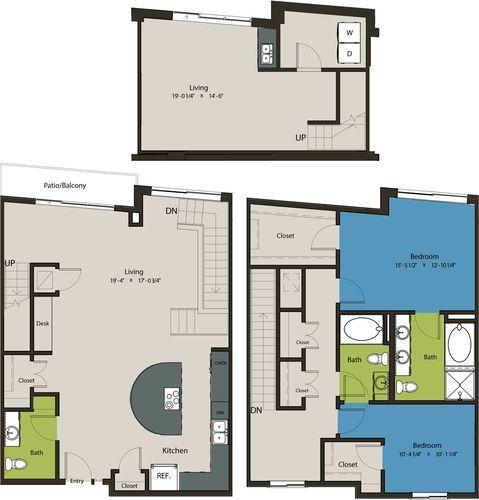 2,067 sq. ft. TSP floor plan