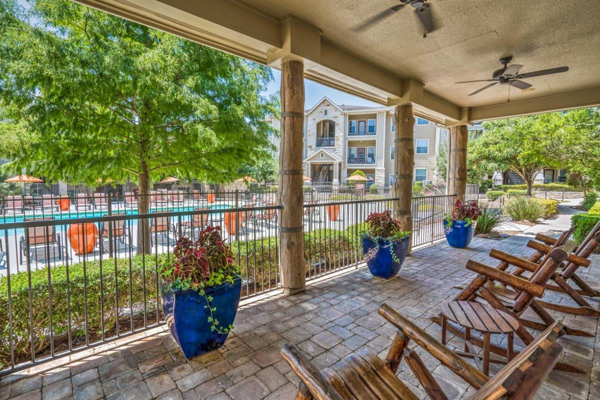 Pool Area at Listing #140757