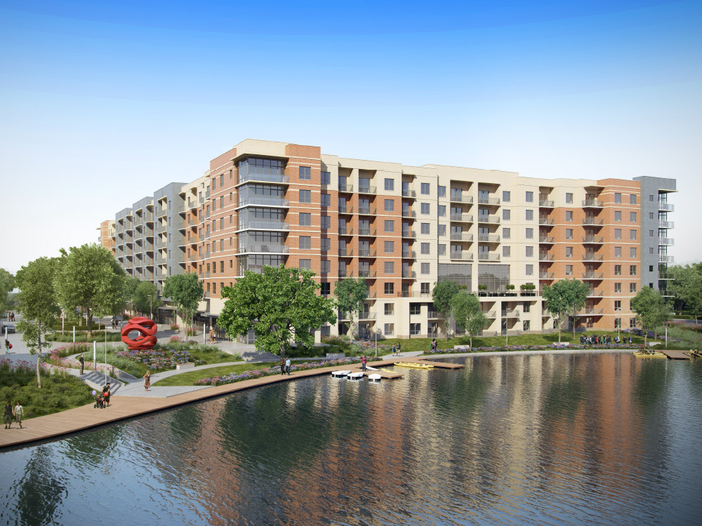 One Lake's Edge ApartmentsThe WoodlandsTX