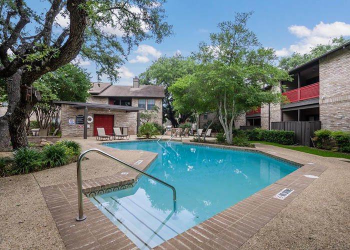 Pool at Listing #140942