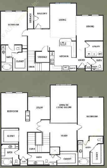 2,630 sq. ft. K floor plan