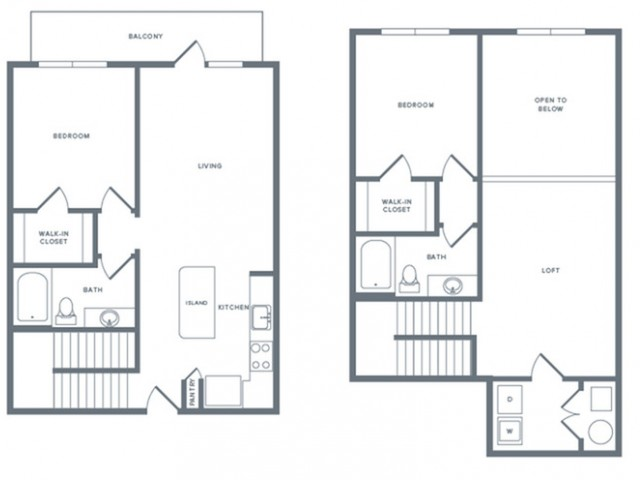 1,475 sq. ft. B7TH floor plan