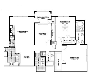 1,435 sq. ft. C1, ALT2 floor plan