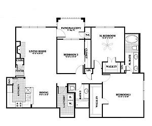 1,435 sq. ft. C1, ALT2 floor plan