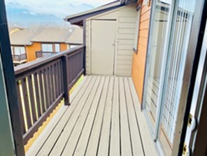 Patio at Listing #135668