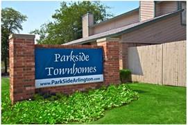 Parkside Townhomes Apartments Arlington TX