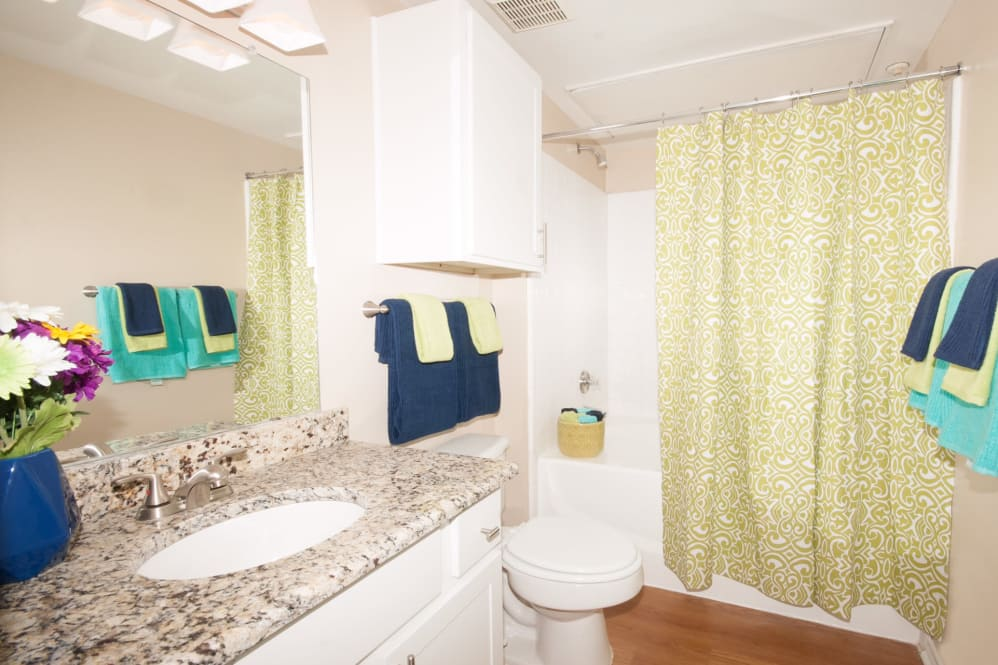 Bathroom at Listing #141373