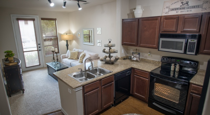 Living/Kitchen at Listing #146629