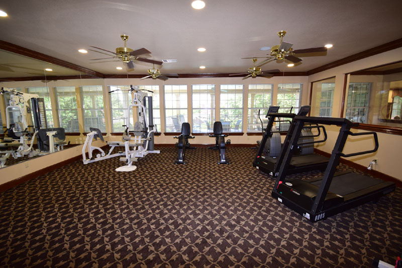 fitness center at Listing #138175