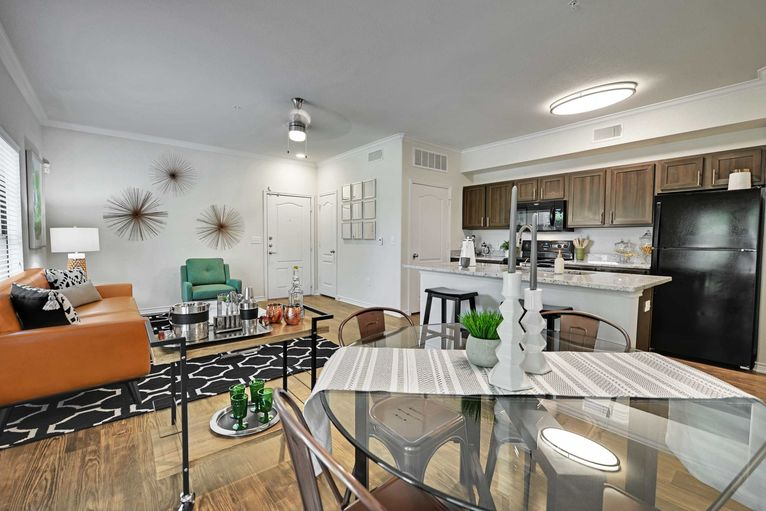 Living/Dining at Listing #144592