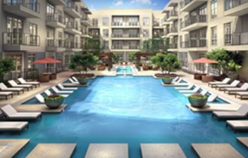 Pool at Listing #235332