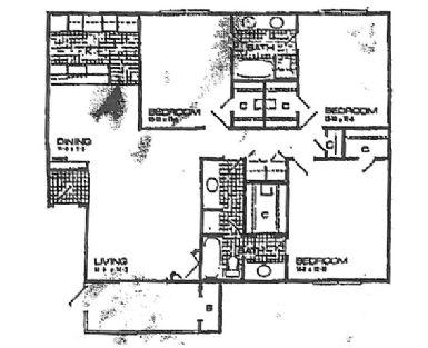 1,316 sq. ft. floor plan