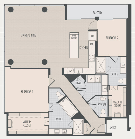 1,890 sq. ft. B4 floor plan