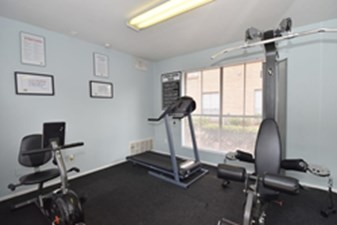 Fitness Center at Listing #138509