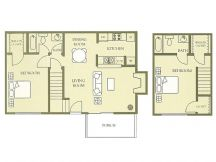 1,032 sq. ft. floor plan