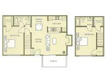 1,032 sq. ft. floor plan