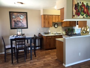 Dining/Kitchen at Listing #136857