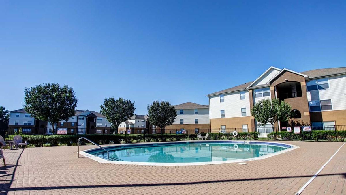 Pool at Listing #144159