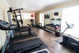 fitness center at Listing #139370